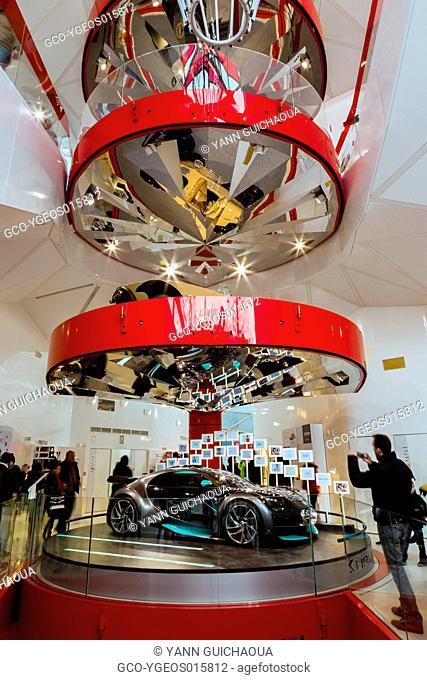 The Citroen's Showroom, Champs Elysees, Paris, France