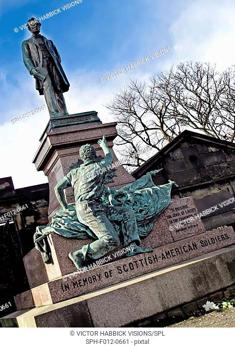 Scottish American Soldiers Monument