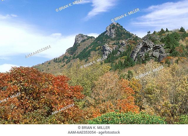 Grandfather Mountain, International Biosphere Reserve, NC, October North Carolina