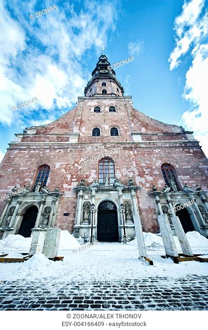St. Peter's Church in Riga, Latvia
