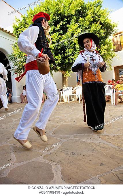 Regional Dance and Dress. Sant Miquel de Balansat. Ibiza. Balearic Islands. Spain