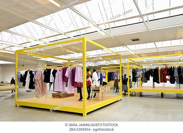 Designer Walter Van Beirendonck's store, Antwerp, Belgium, Europe