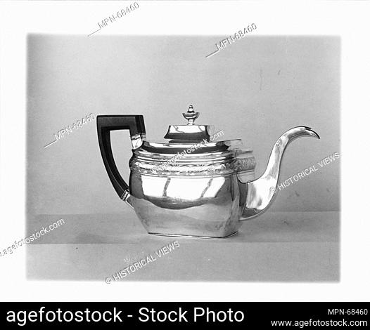 Teapot. Maker: William G. Forbes (1751-1840); Date: 1800-1810; Geography: Made in New York, New York, United States; Culture: American; Medium: Silver;...