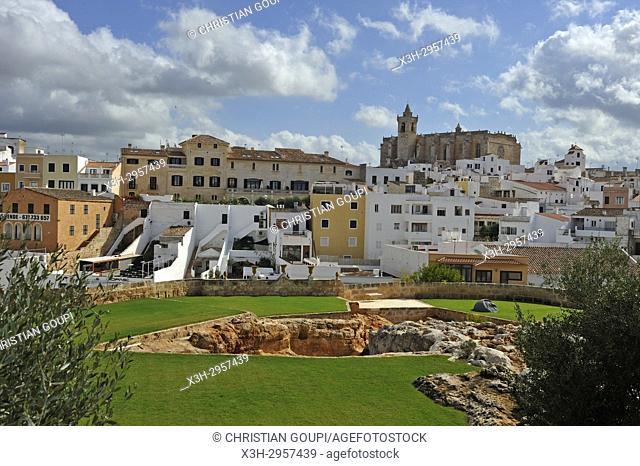 Ciutadella de Menorca, Menorca, Balearic Islands, Spain, Europe