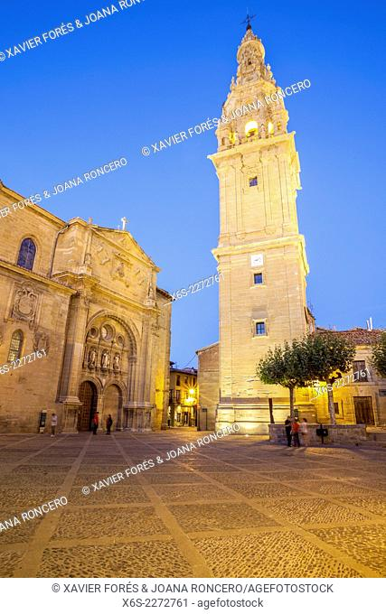 Cathedral of Santo Domingo de la Calzada in the Way of St. James, La Rioja, Spain