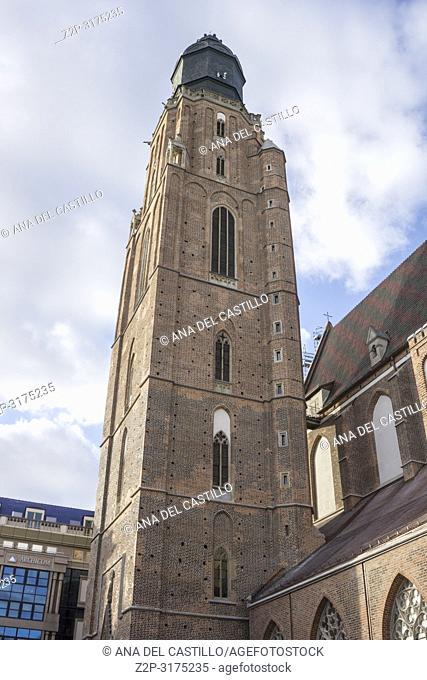 St. Elizabeth's Church Wroclaw Poland