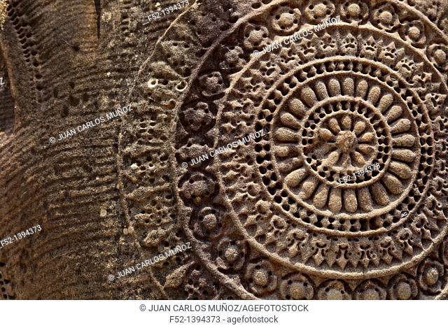 Naga's decoration  Angkor Wat Temple  Angkor  Siem Reap town, Siem Reap province, Cambodia, Asia