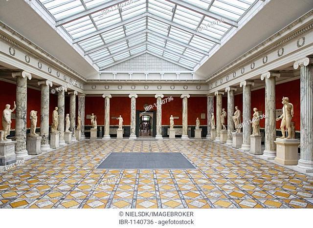 Ny Carlsberg Glyptotek, interior, Copenhagen, Denmark, Europe