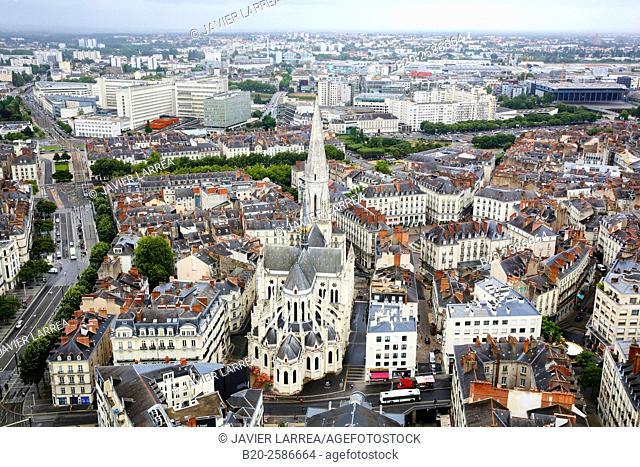 Basilica of Saint Nicolas, Nantes, Pays de la Loire, France