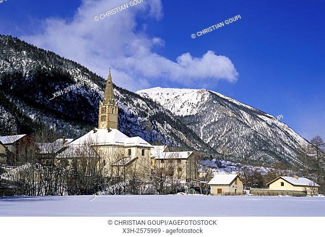 Val-des-Pres, Vallee de la Claree Valley of the Claree River, Hautes-Alpes department, Provence-Alpes-Cote d'Azur region, France, Europe