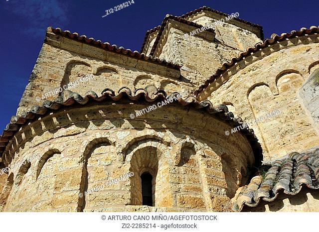 Romanesque church of La Anunciada, XIth century. Urueña, Valladolid, Spain