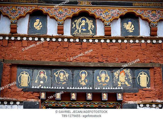 Painter houses in Bhutan