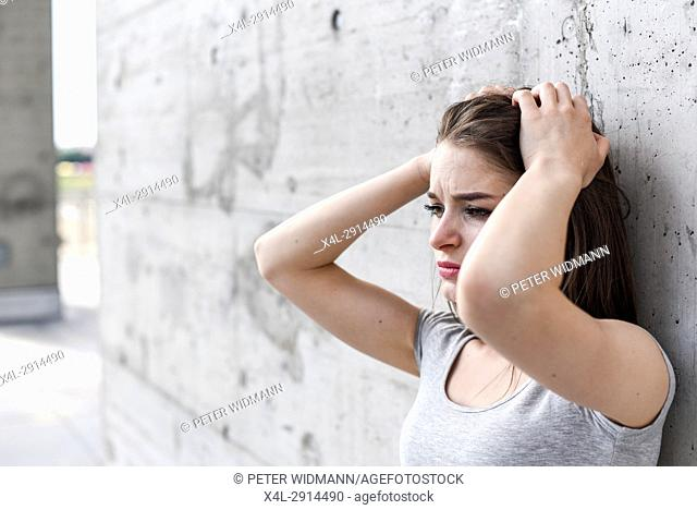 Young, attractive woman (model-released)