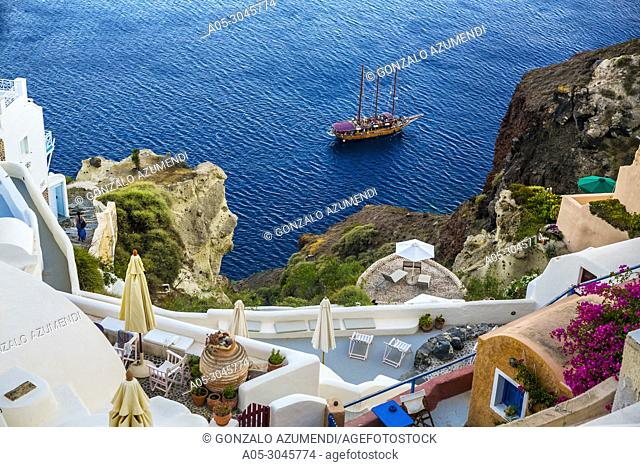 Oia. Ia. Santorini Island. Ciclades Islands. Greece