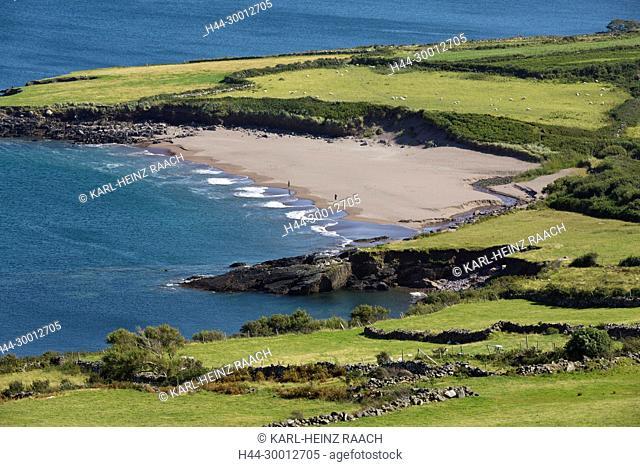 Irland, Strand Brandon, Dingle Halbinsel, County Kerry