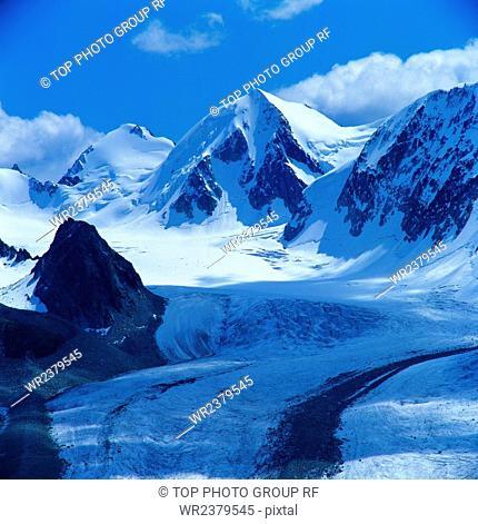 Kanas glacier