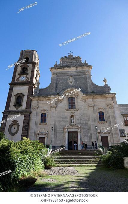 Duomo, Cathedral, Lipari, Aeolian Islands, Italy