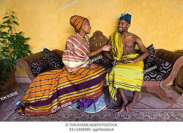 Miriam Hamid and Hanu Mohammed, young couple in Zanzibar