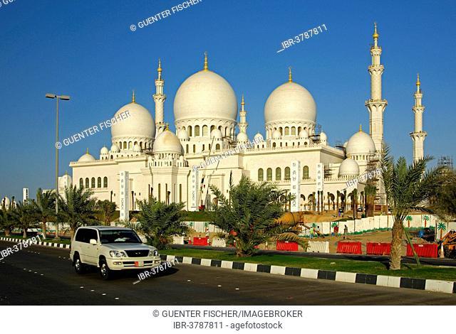 Sheikh Zayed Bin Sultan Al Nahyan Mosque, Grand Mosque, Abu Dhabi, United Arab Emirates