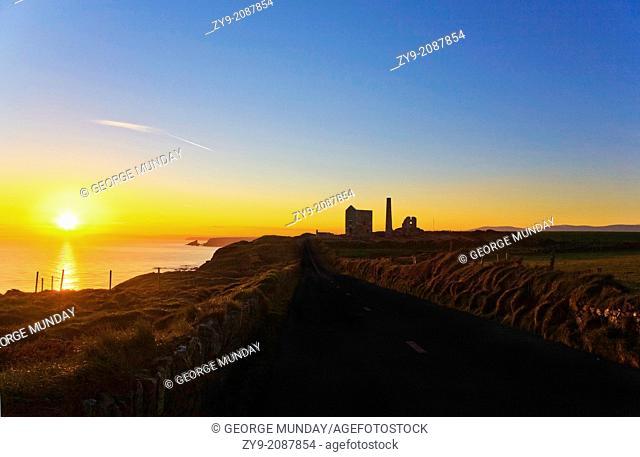 Copper Mine Buildings, Tankardstown, Copper Coast, County Waterford, Ireland
