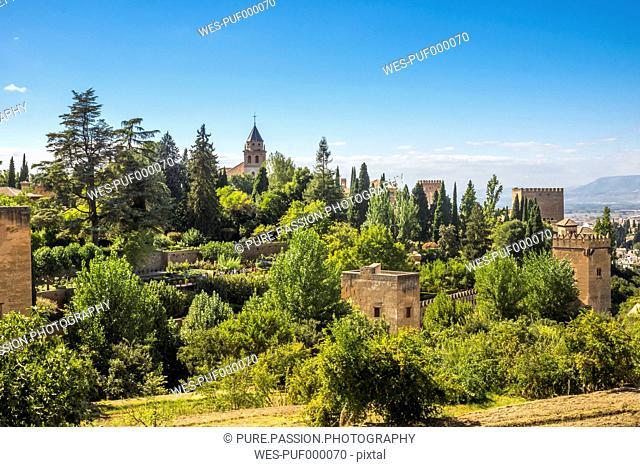 Spain, Andalusia, Granada, Alhambra