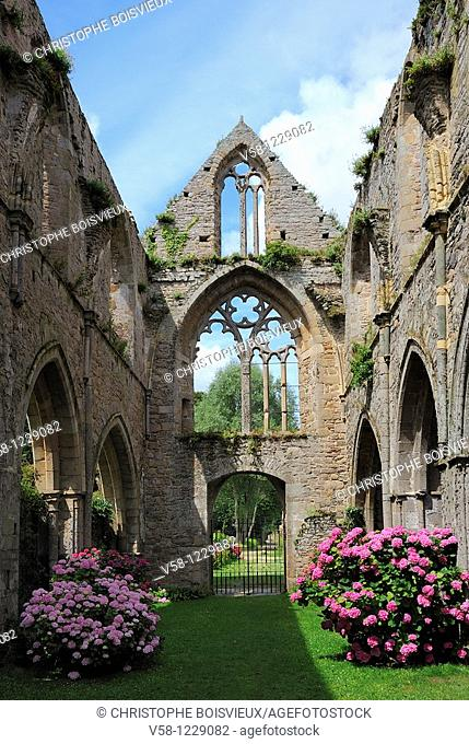 France, Cotes d'Armor, Abbey of Beauport