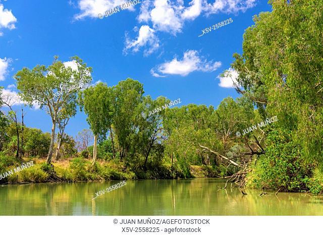 Rivera landscapes of East Alligator River. Kakadu National Park. Northern Territory. Australia