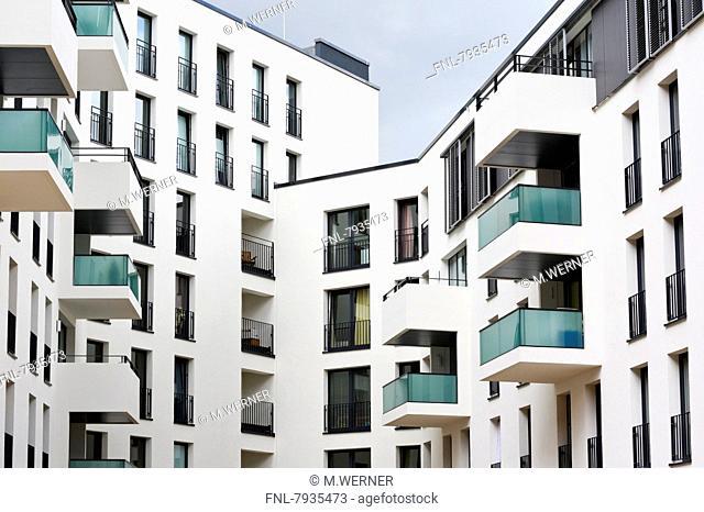 Headline: New development in Hamburg Neustadt, Germany