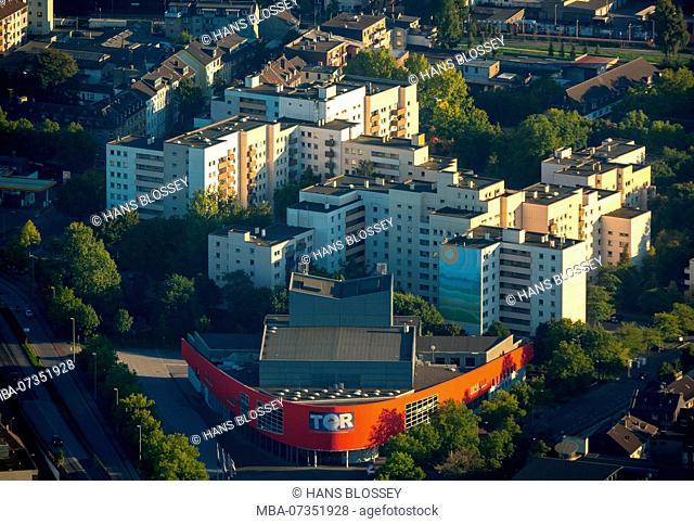 Theater at Marientor, Duisburg, Ruhr area, North Rhine-Westphalia, Germany