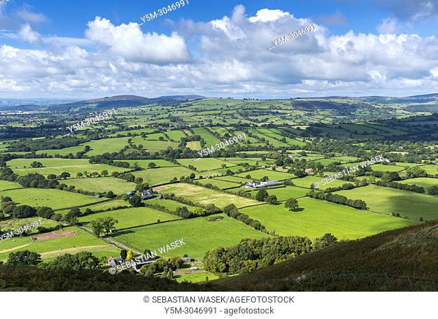 Shropshire Hills Area of Outstanding Natural Beauty, Church Stretton, Shropshire, England, United Kingdom, Europe