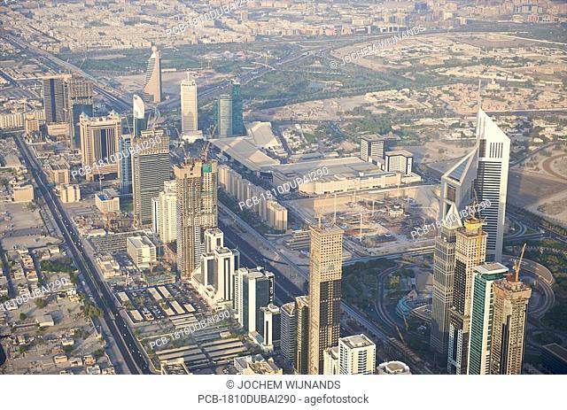 Dubai, the sheikh zayed road area