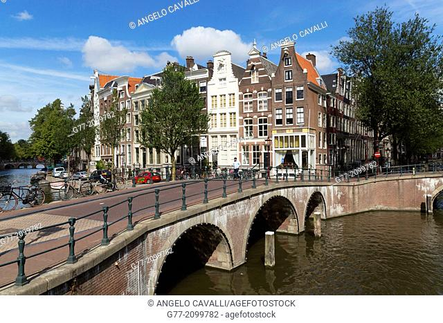 Netherlands. Amsterdam. Channel of Amsterdam