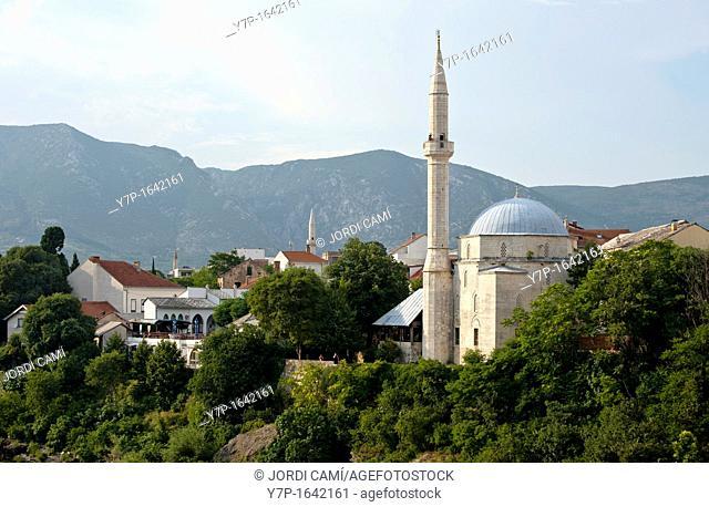 View of Mostar Mostar Bosnia- Herzegovina Balkans Europe