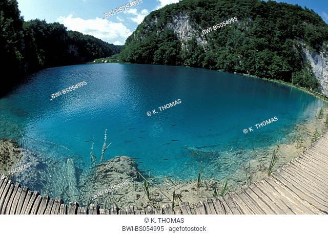 UNESCO World Heritage, Nationalpark Plitvice Lakes, Croatia, NP Plitvice Lakes