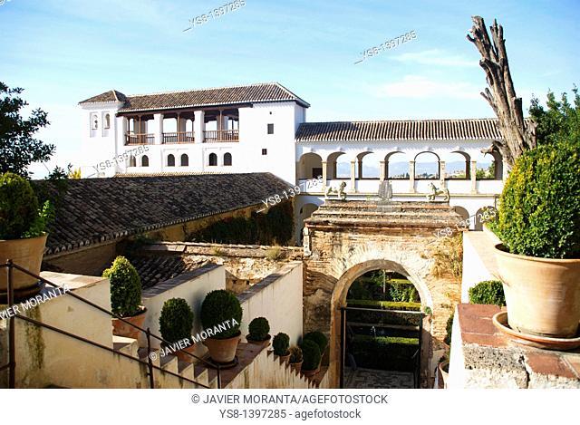 Spain, Andalusia, Granada, La Alhambra de Granada