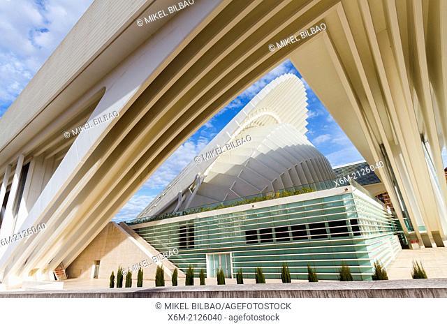Palacio de Exposiciones y Congresos. Oviedo, Asturias, Spain, Europe
