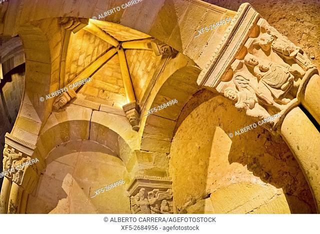 Sanctuary, Monastery of San Juan de Duero, 12th century, Romanesque Style, National Monument, Spanish Property of Cultural Interest, Soria, Castilla y León