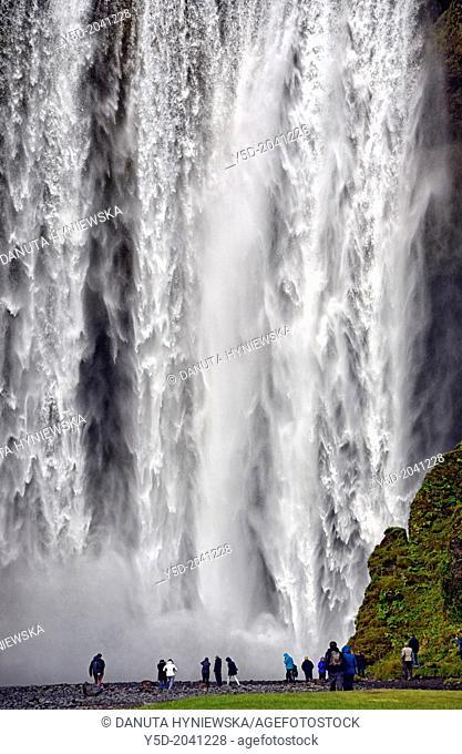Skogafoss waterfall, Southern regions, Iceland