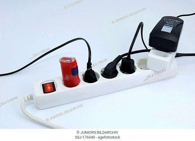 Power strip with power switch, Studio picture