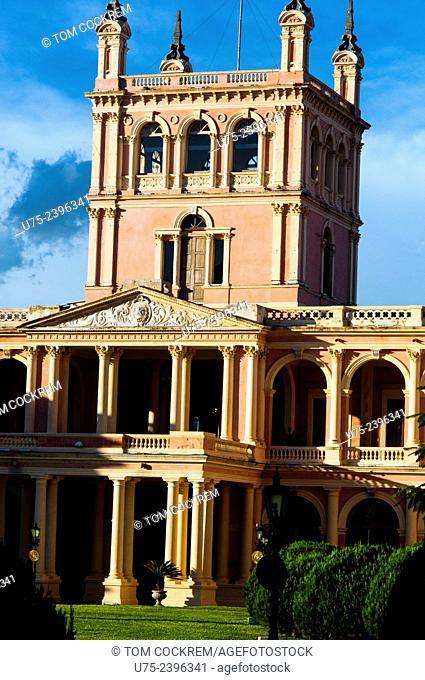 Palacio de Gobierno, or Government Palace, Central Asuncion, Paraguay