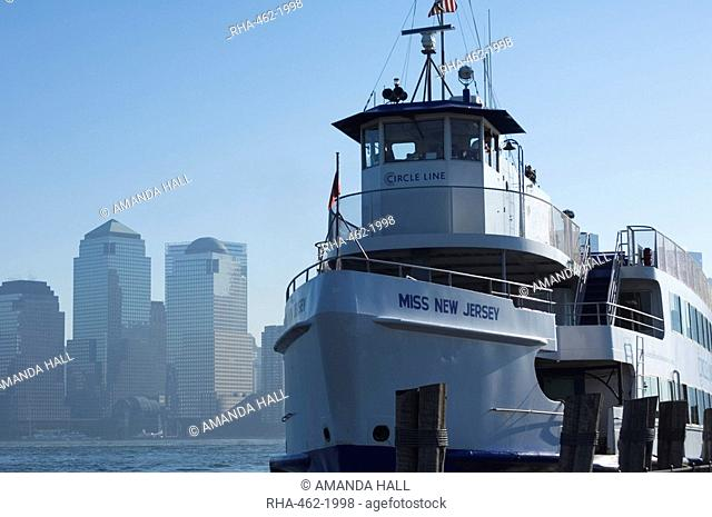 Circle Line Ferry, New York City, New York, United States of America, North America