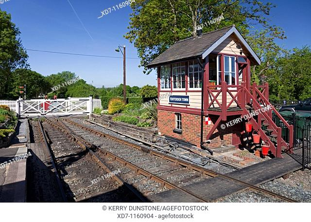 England Kent Tenterden Town Station and Signal Box