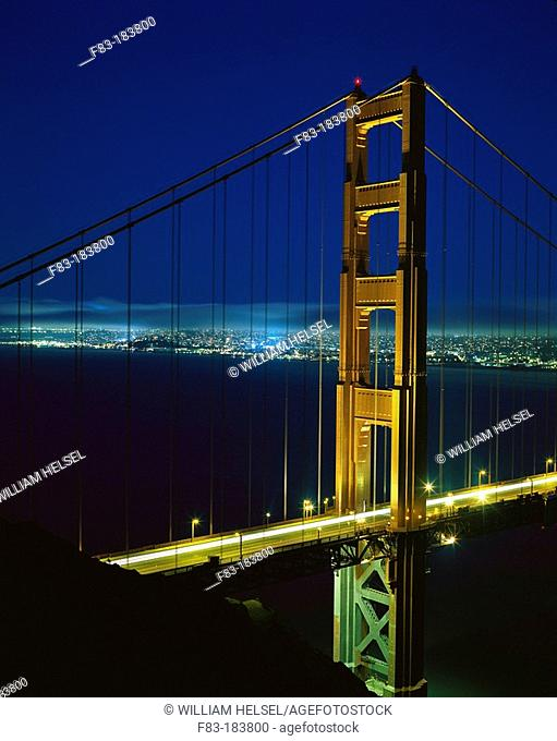 Golden Gate bridge. San Francisco. CA. USA