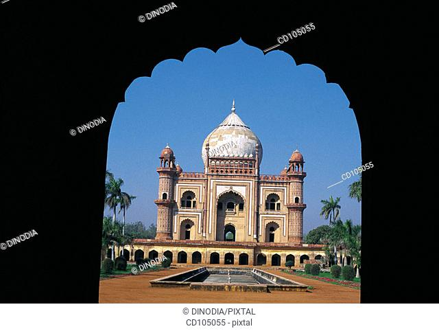 Humayun's (second Mughal ruler of India) mausoleum. New Delhi. India