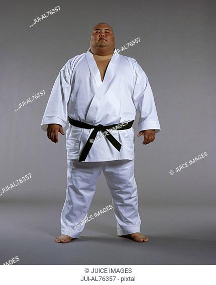 Portrait of a martial arts student