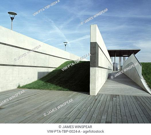 THAMES BARRIER PARK, LONDON, SE18 WOOLWICH, UK, PATEL TAYLOR ARCHITECTS, EXTERIOR, RAMP