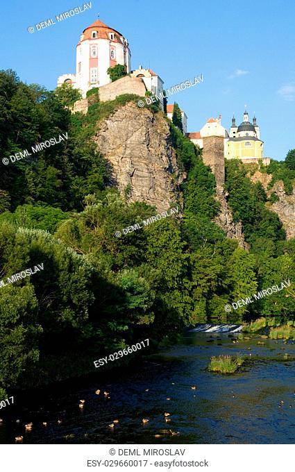 CZ, Southern Moravia,castle Vranov nad Dyji