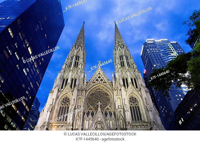 St Patrick's Cathedral, New York City, USA