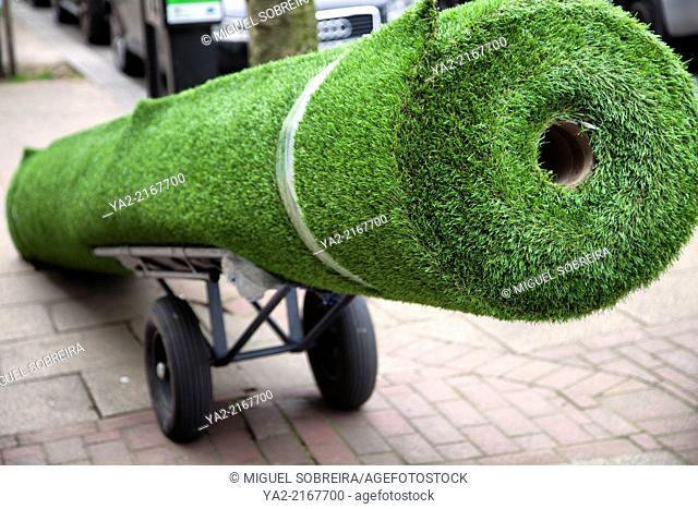 Big Roll of Astroturf for Sale - London SW11 - UK