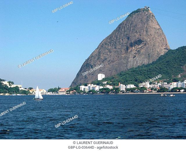 Landscape, Pão de Açúcar, Botafogo, Rio de Janeiro, Brazil
